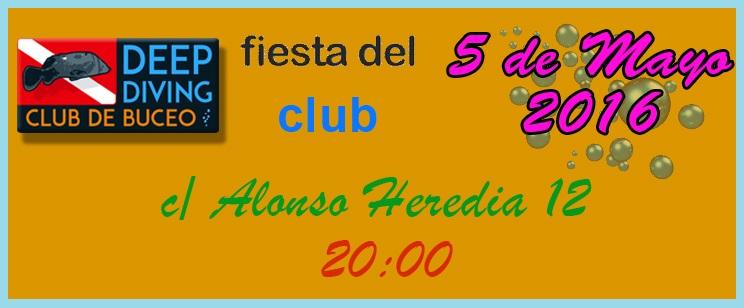 Fiesta en el club