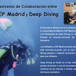 Convenio CEP y Deep Diving