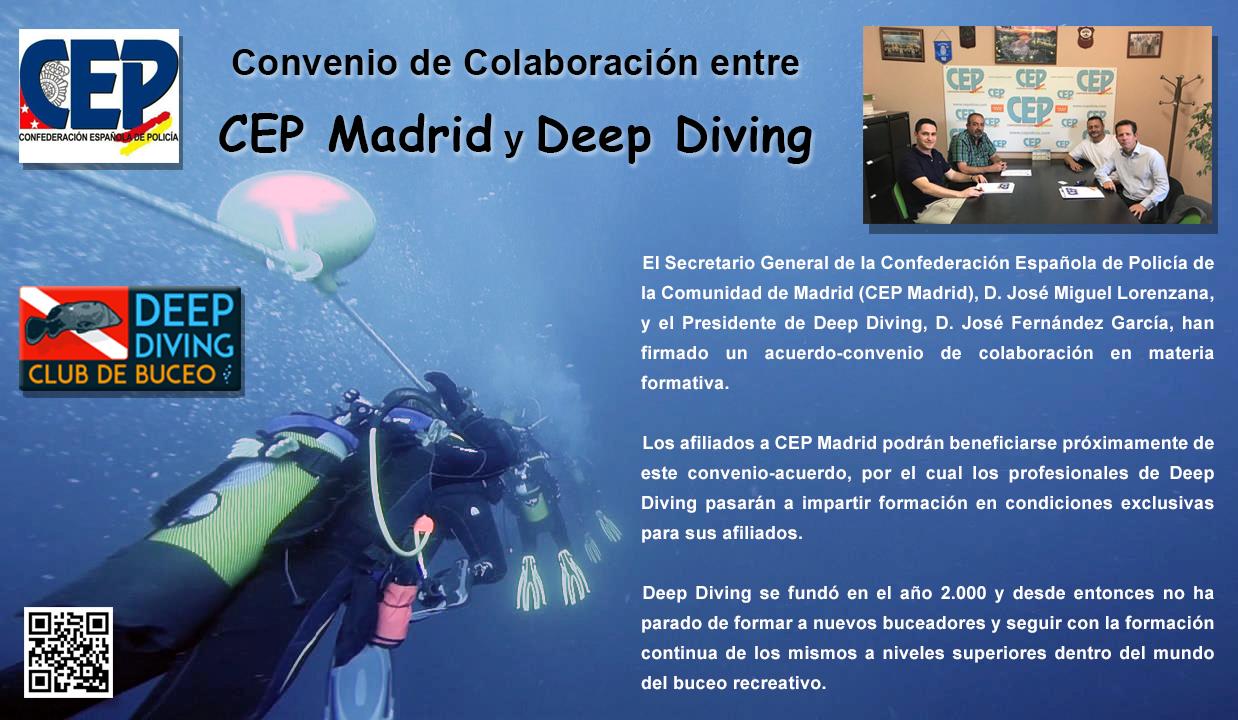 Convenio CEP y Deep Diving
