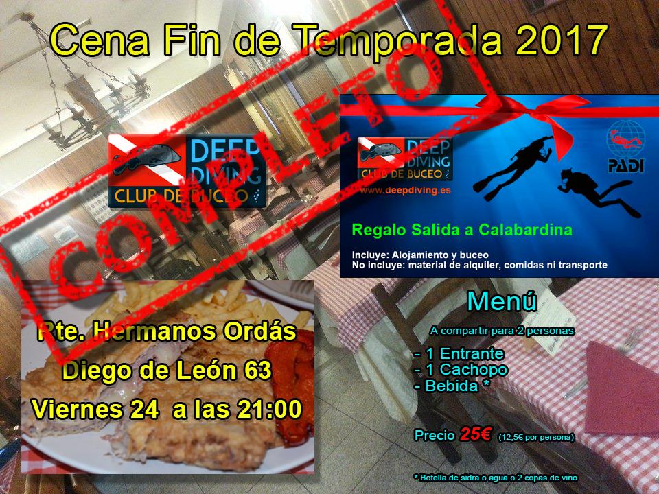 Cena Fin Temporada 2017 Completo